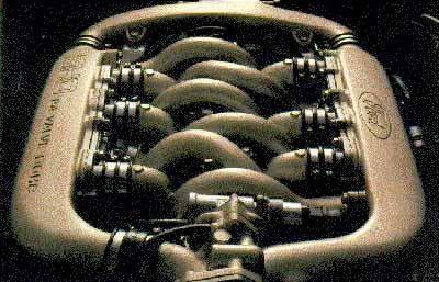 ford taurus sho - engine
